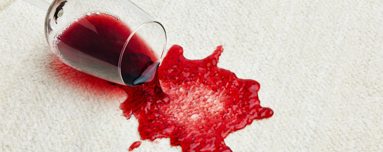 Revive Carpet Cleaning red wine